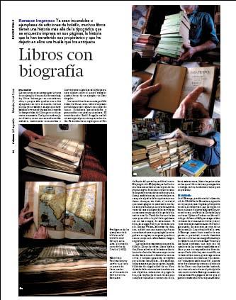 Eva Muñoz La Vanguardia Culturas Libros con biografía reportaje