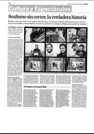 Eva Muñoz La Razón Cultura Realismo sin cortes Reportaje