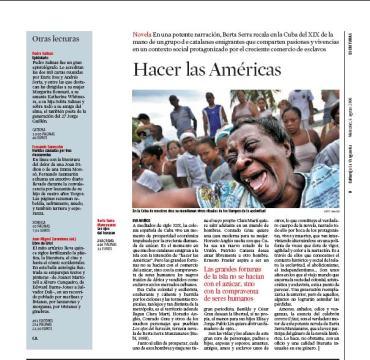 Eva Muñoz La Vanguardia Culturas Berta Serra Novela
