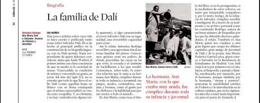 Eva Muñoz La Vanguarida Culturas Dalí artículo