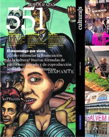 Eva Muñoz La Vanguardia Culturas El mecenazgo que viene Reportaje