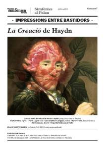Impressions entre bastidors_La Creació de Haydn en blog Eva Muñoz