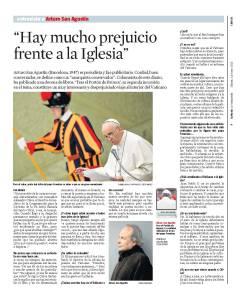 Entrevista a Arturo San Agustín en blog Eva Muñoz
