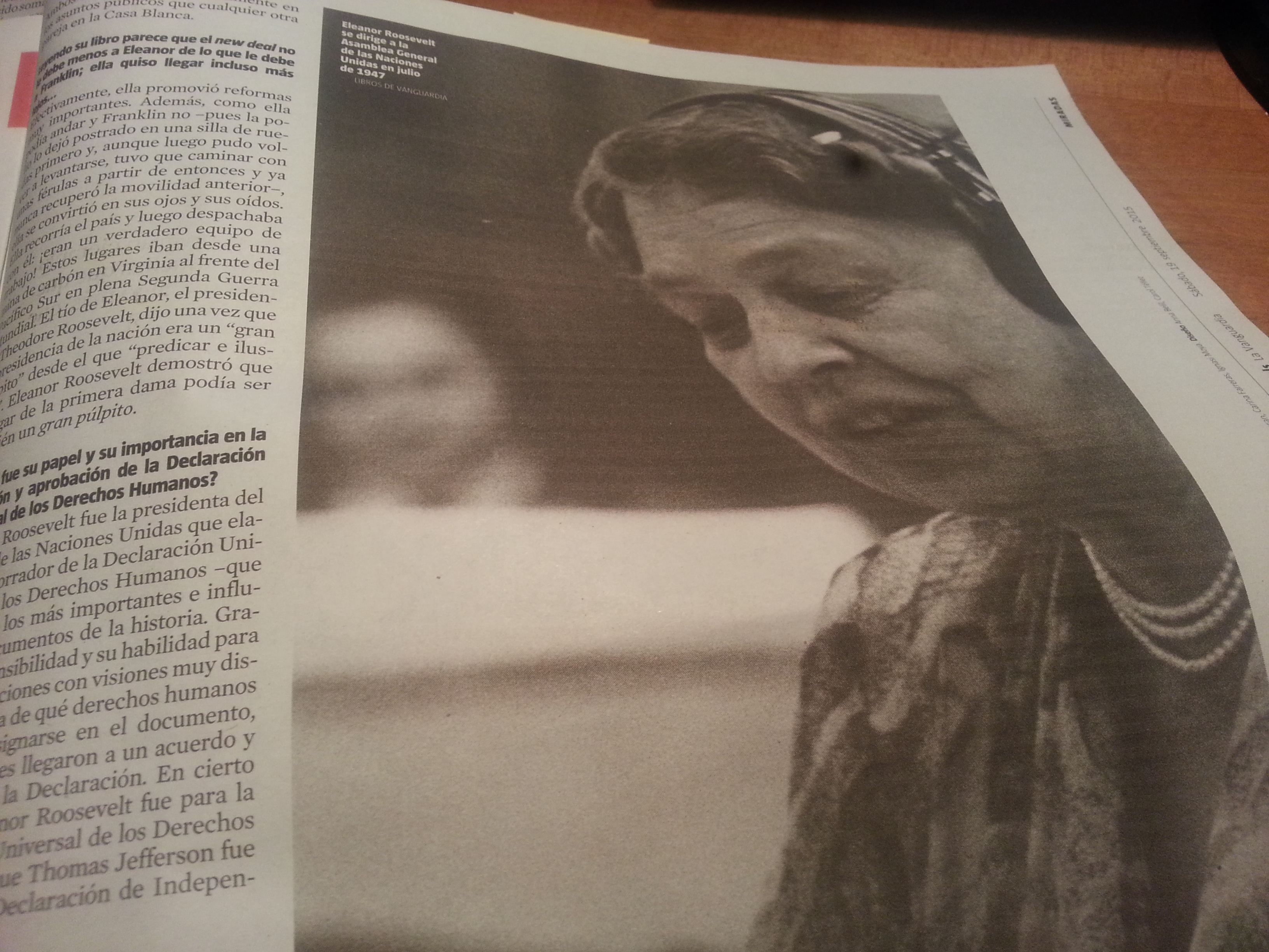 Eleanor Roosevelt en blog Eva Muñoz