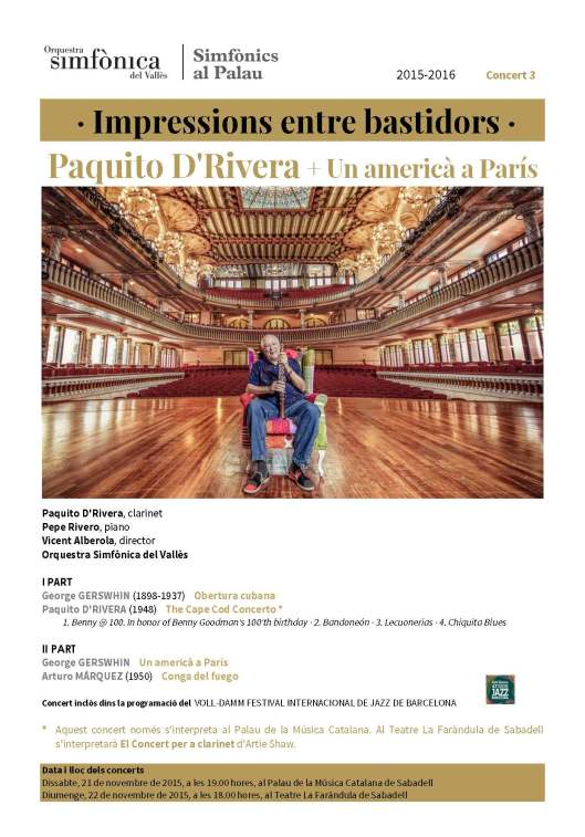 Paquito D'Rivera en blog Eva Muñoz