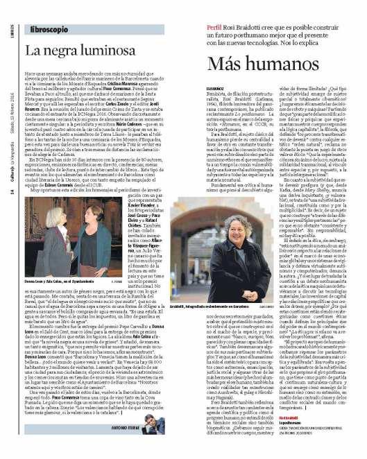 LA VANGUARDIA_BRAIDOTTI en blog Eva Muñoz