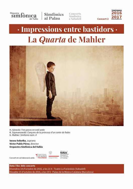 La Quarta de Mahler en blog Eva Muñoz
