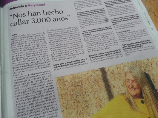 Mary Beard en blog Eva Muñoz