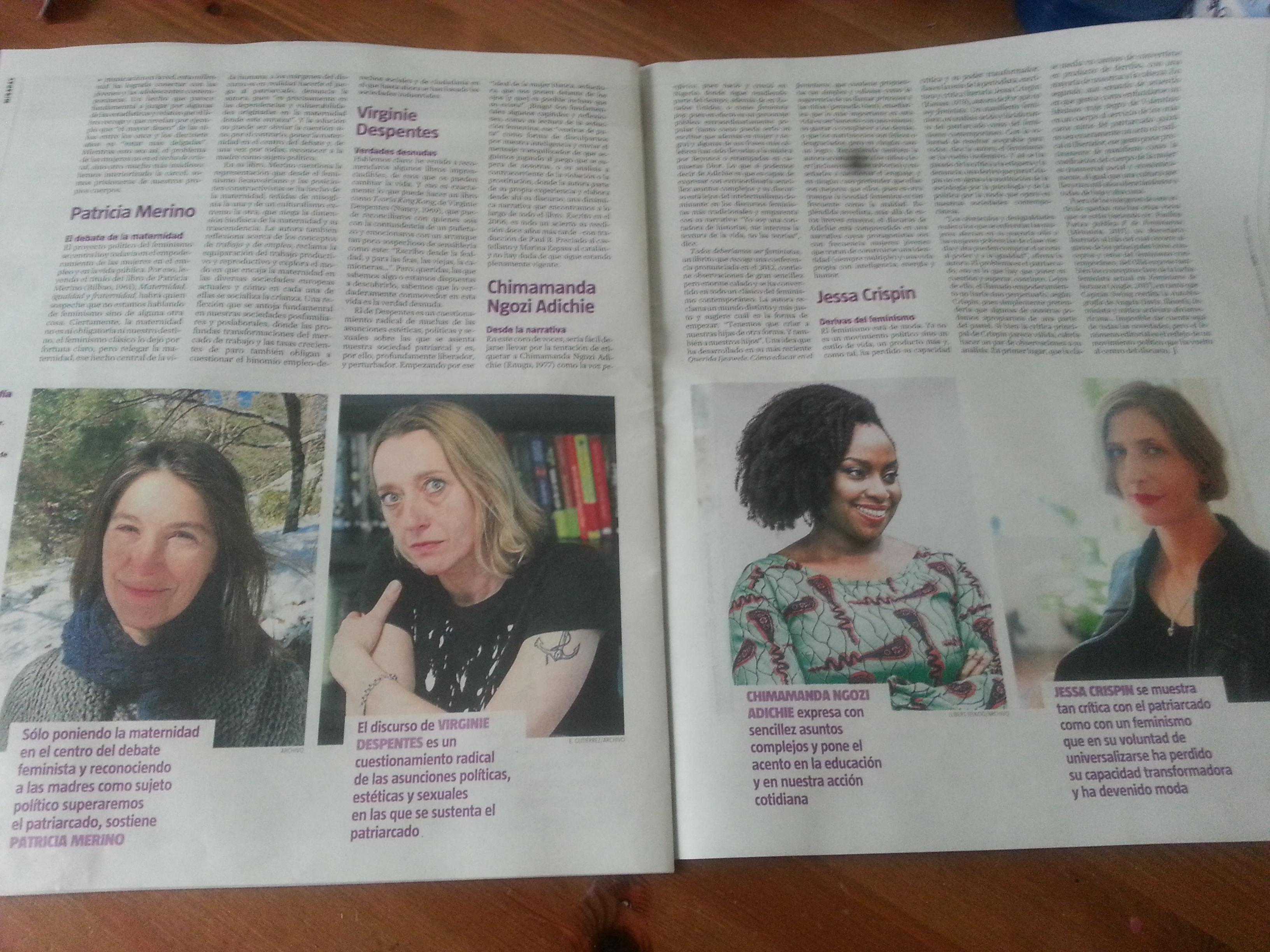 Nuevas voces del feminismo en blog Eva Muñoz
